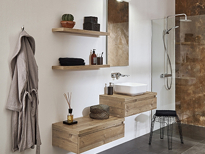Mooihuis houten waskom mooihuis