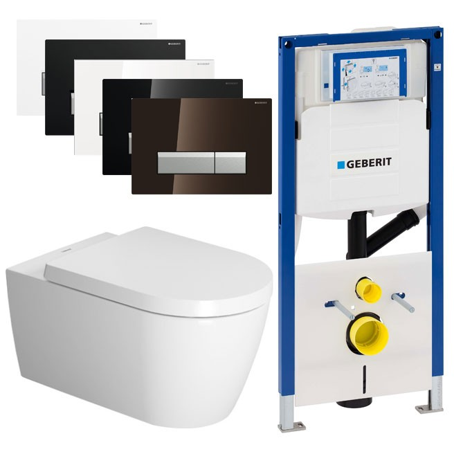 a2a9dd7a304 Duravit ME by Starck Rimless / Geberit Duofresh set - Saniweb.nl