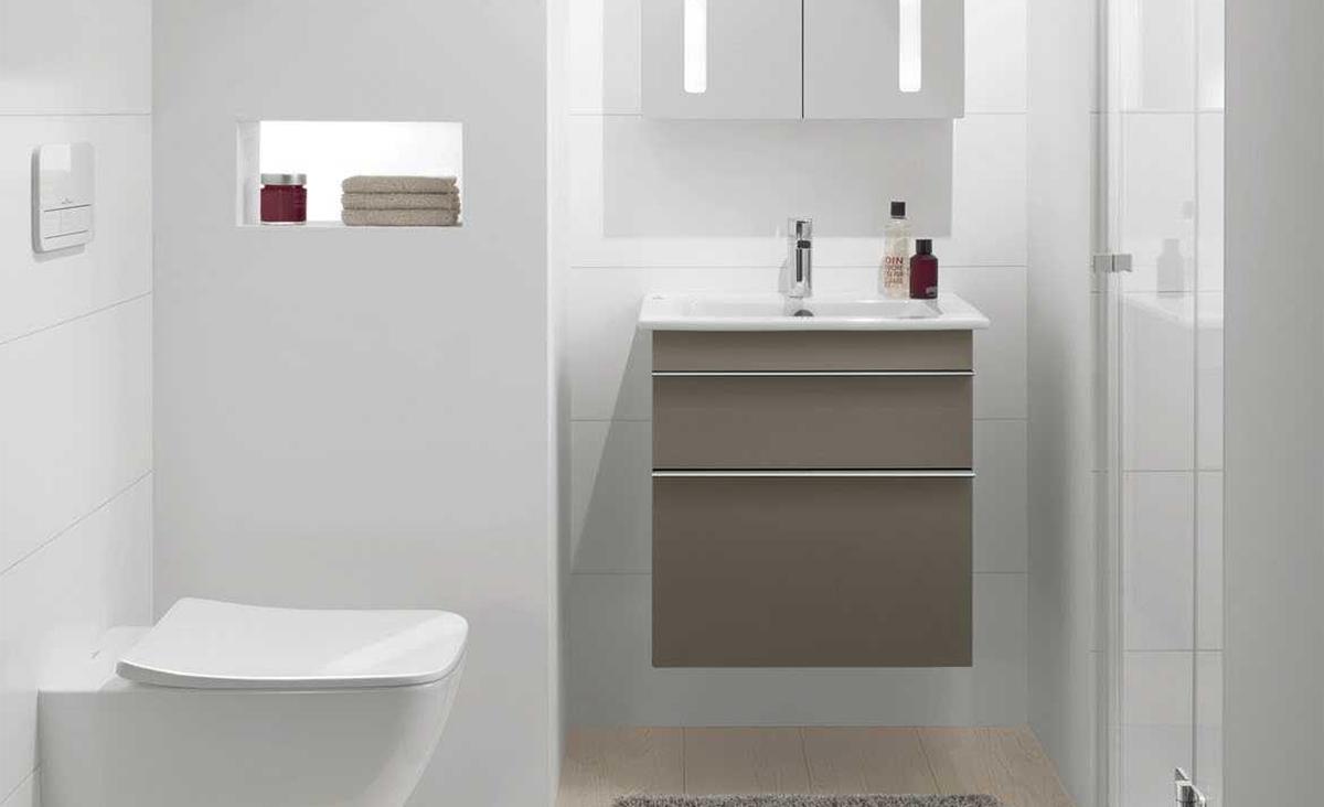 Kleine Badkamer Oplossing : Badkamermeubels voor de kleine badkamer inspiratie saniweb.nl