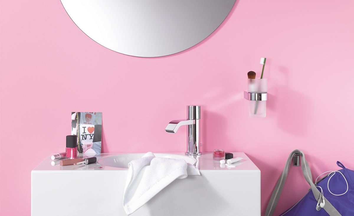 Badkamertegels Felle Kleuren : Frisse kleuren in de badkamer inspiratie saniweb