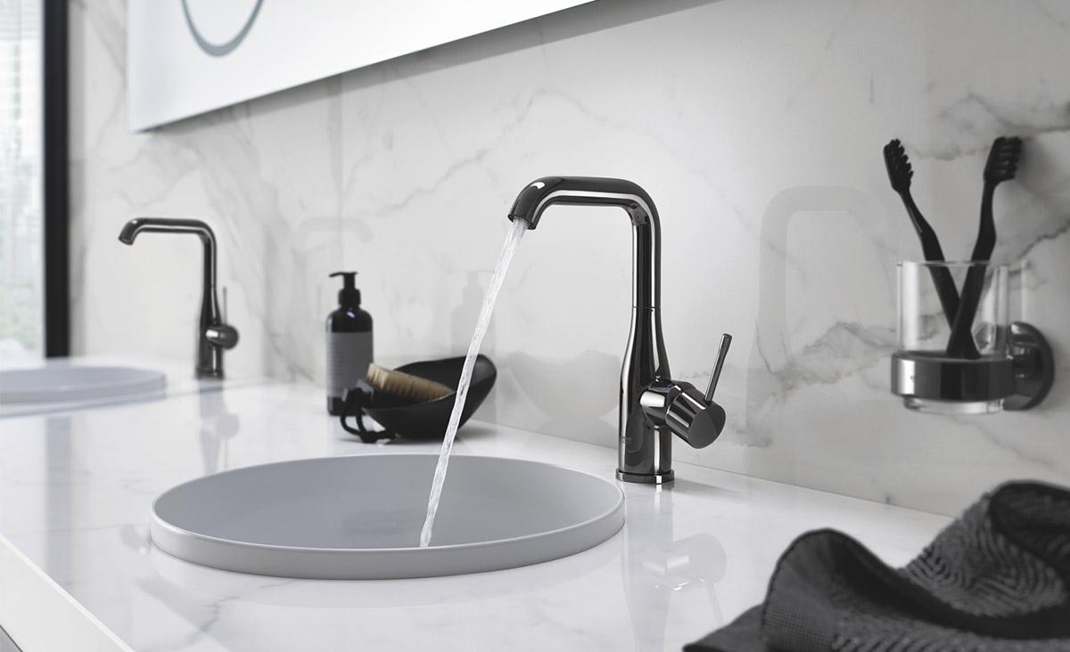 Zwarte Kraan Badkamer : Zwarte kranen badkamer artistieke zwarte badkamer kraan