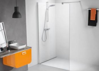 Inloopdouche Met Badkraan : Walk in douche modern door open uiterlijk met glas en goedkoop