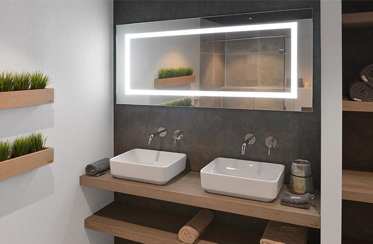 Spiegels Groot Formaat : Advies over badkamerspiegels saniweb