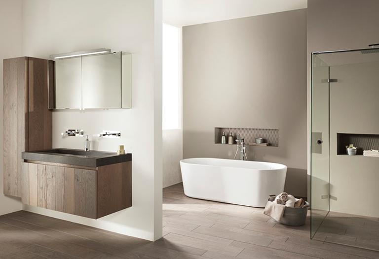 Inloopdouche Met Wastrog : Industriële badkamer inspiratie saniweb.nl