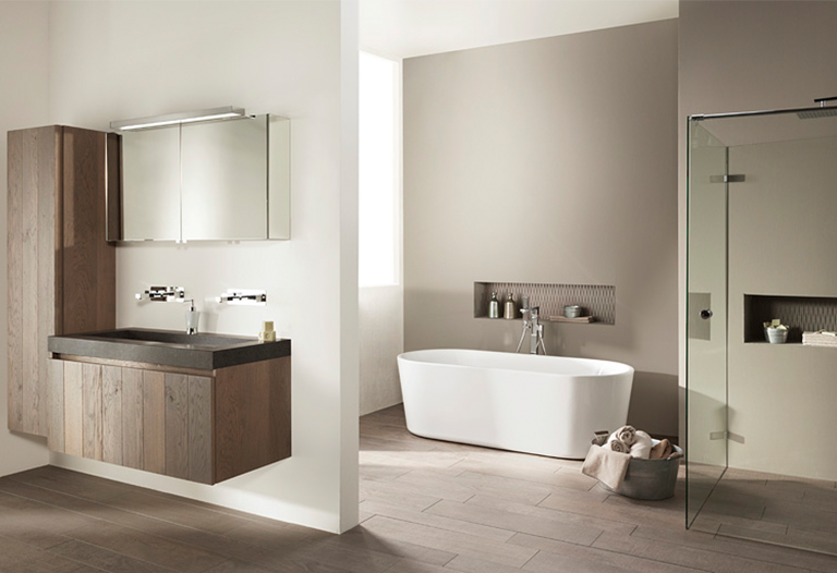 Industriële badkamer inspiratie saniweb.nl