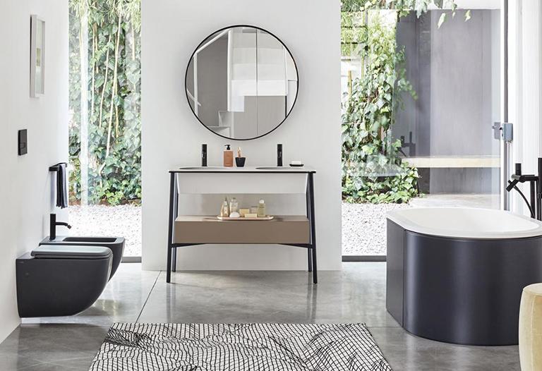 Warme Rustieke Badkamer : Industriele badkamer. stunning maken deze badkamer uitermate