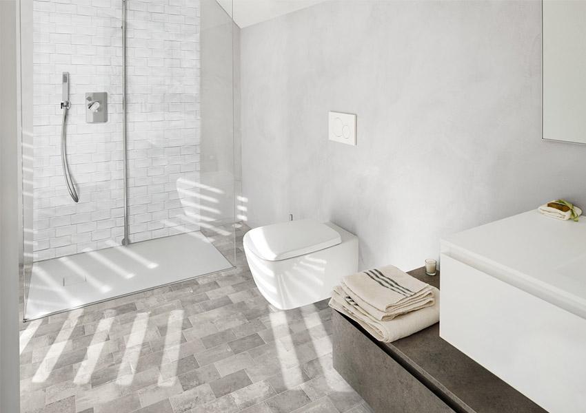 Beton in de badkamer inspiratie saniweb