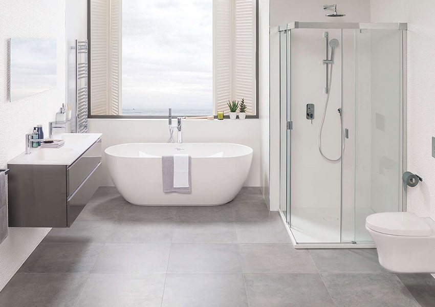 Badkamer Lichte Tegels : Beton in de badkamer inspiratie saniweb