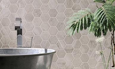 Hexagon Tegels Badkamer : De mooiste badkamertegels inspiratie saniweb
